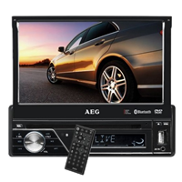 AUTO-RÁDIO DVD/CD AEG - AR 4026 DVD